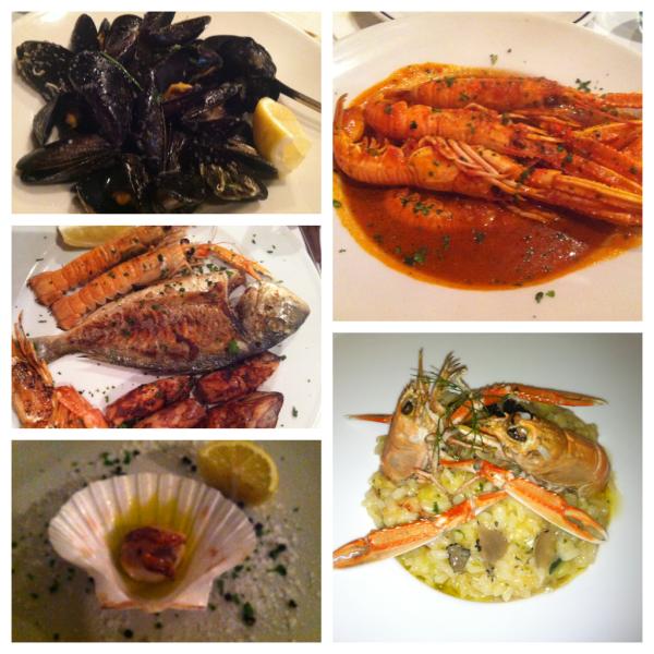 seafood croatia