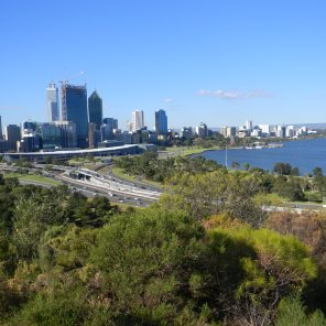 View of Perth from Hyde Park
