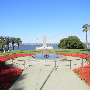 Celebrating Anzac Day at the Memorial-Perth