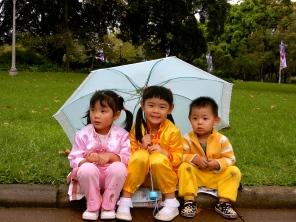 Adorable kiddies in Hyde Park